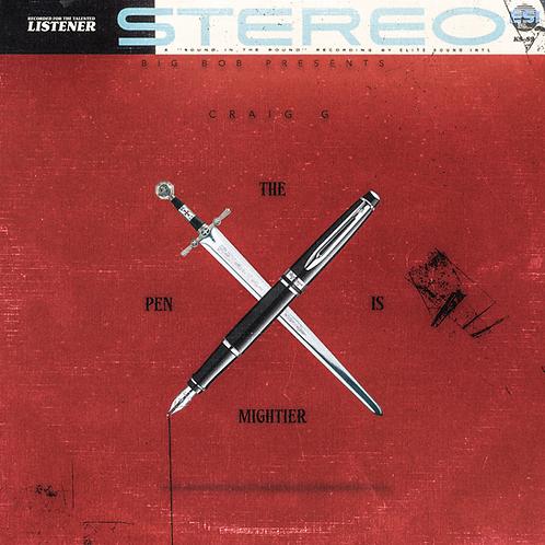 "BigBob Presents Craig G ' The Pen is Mightier"" CD"
