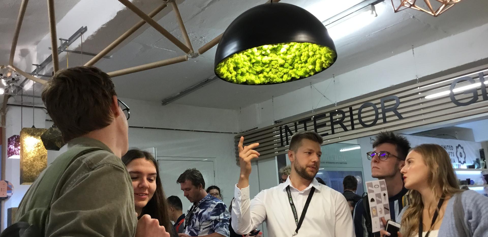 design lámpa design lamp London 1