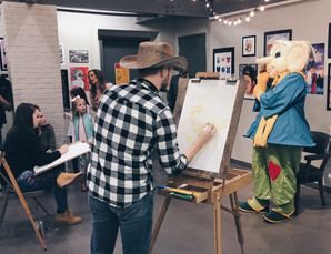 Call for Artists & Models: Competitive Portrait Drawing