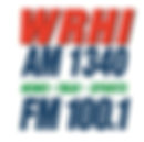 2017 - WRHI AM 1340 - FM 100.1 LOGO.png