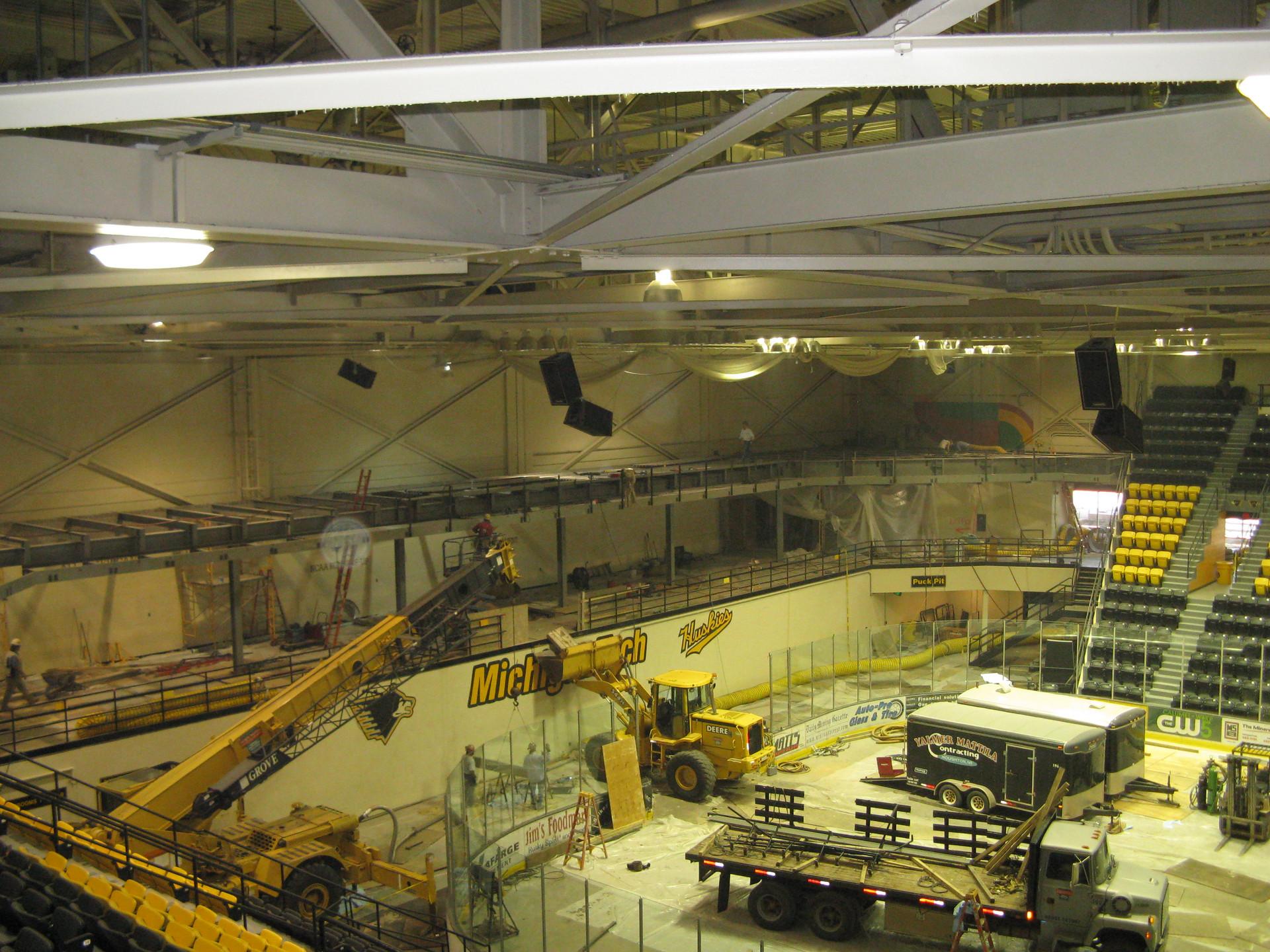 Michigan Tech Ice Arena Renovations (Houghton, MI)
