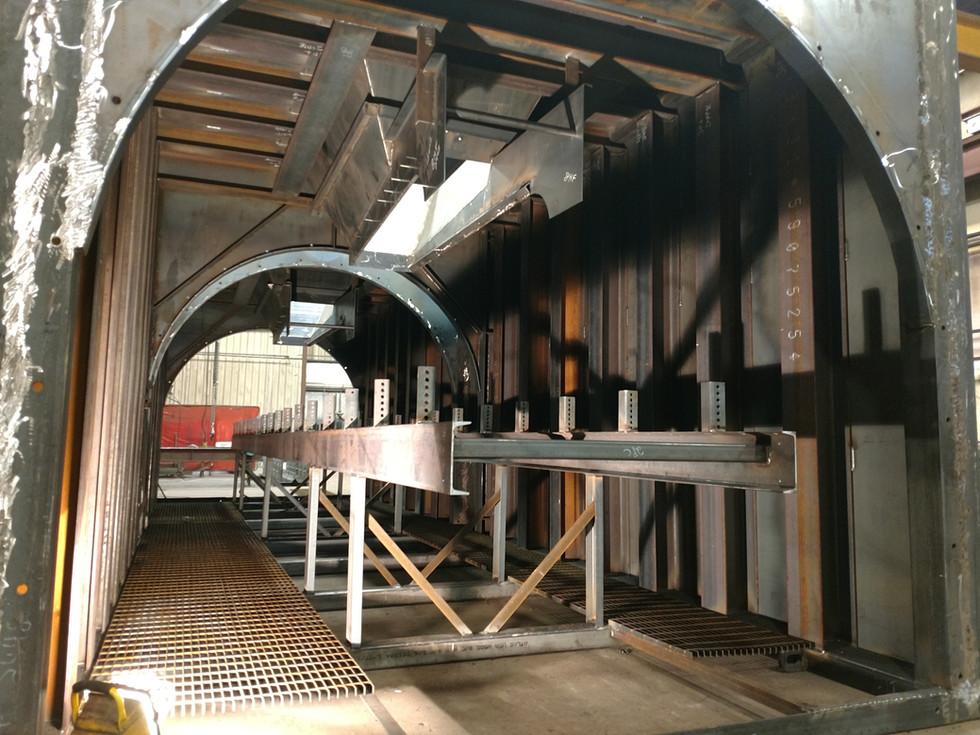 10' x 10' x 34' Belt Feed Tunnel