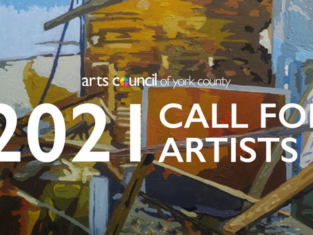 2021 Call for Artists: Arts Council of York County | Center for the Arts | Dalton Gallery