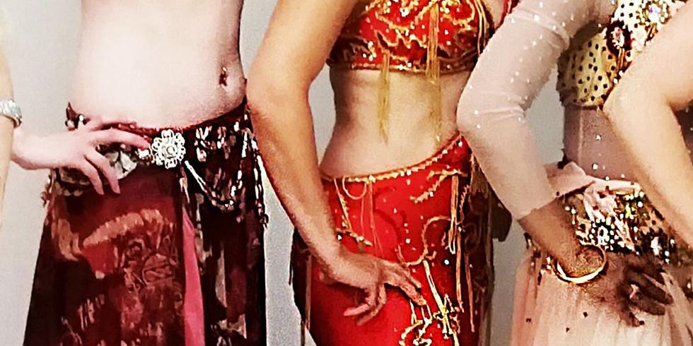 EKC Vinterskola med magdans