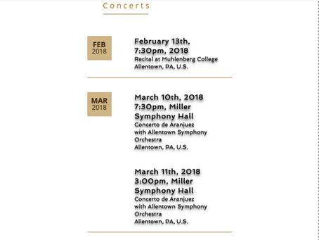 2018 Concerts