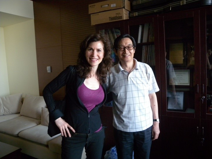 Professor Sharon Isbin & Professor Chen Zhi