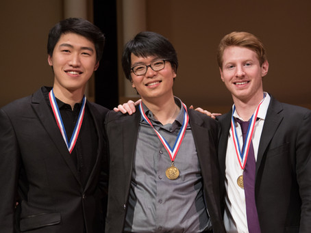 March 2017, Won Schadt String Competition!