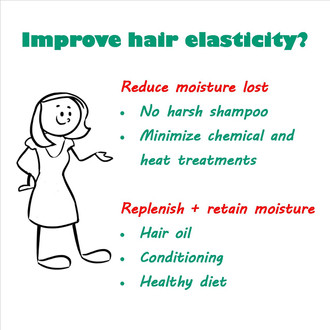 How to improve your hair elasticity?