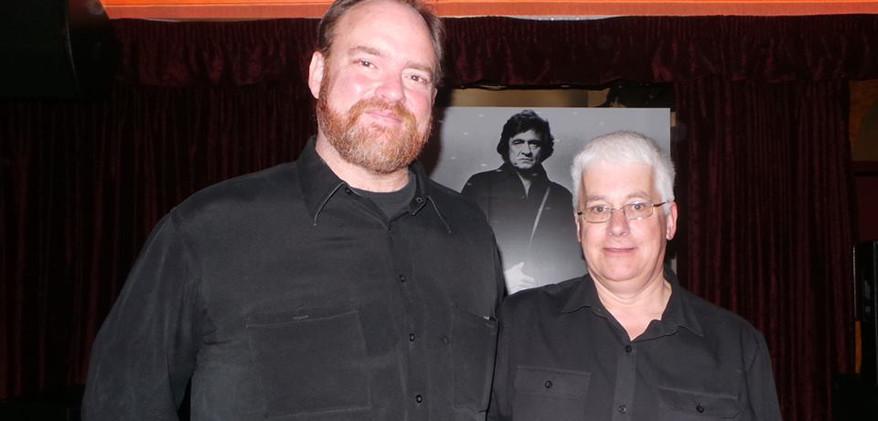 John Carter Cash and Peter Lewry 04-03-1