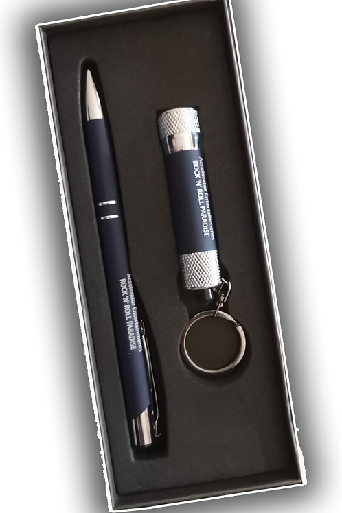 Rock 'n' Roll Paradise: Souvenir Pen and Torch Boxed Set.