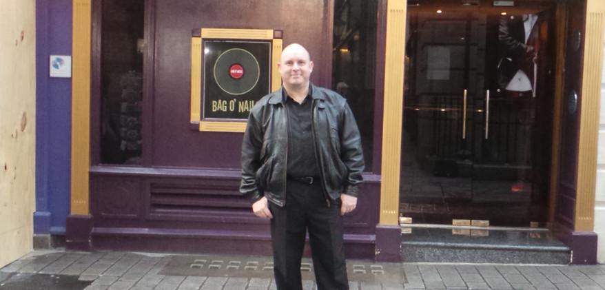 Rick at the Bag O' Nails Club 04-03-14.J
