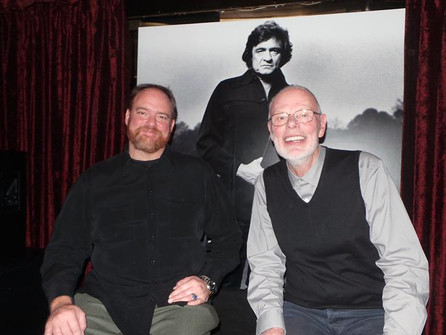 """JOHNNY CASH """"OUT AMONG THE STARS"""" CD LAUNCH"""