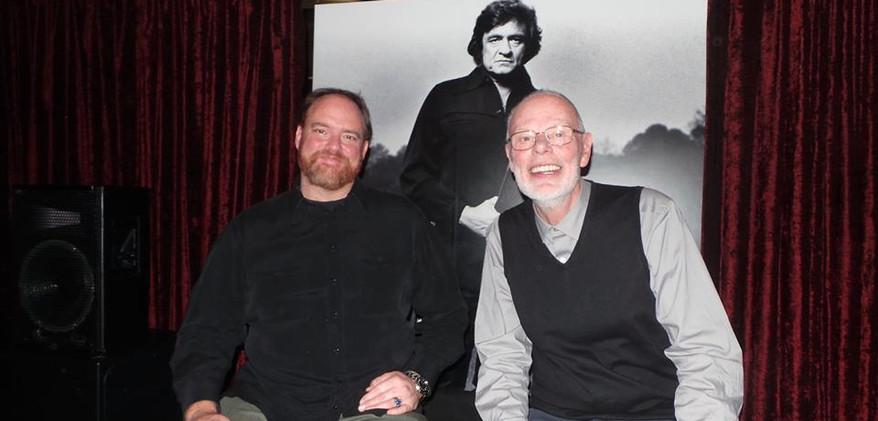 Bob Harris and John Carter Cash 04-03-14