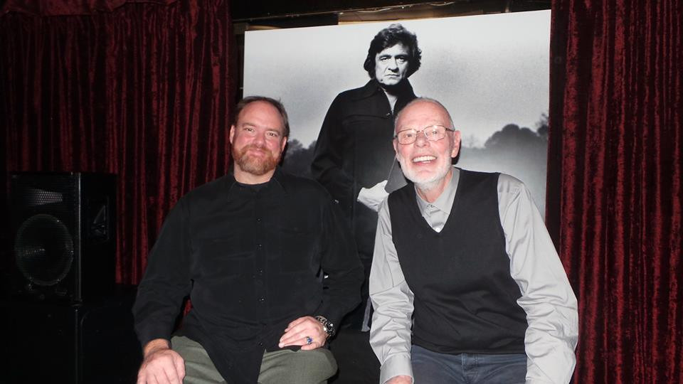 Bob Harris and John Carter Cash 04-03-14