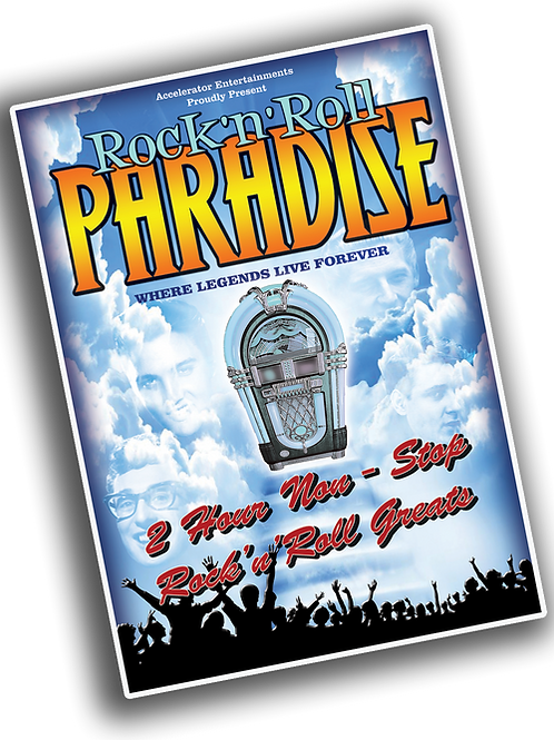 Rock 'n' Roll Paradise: Souvenir Brochure