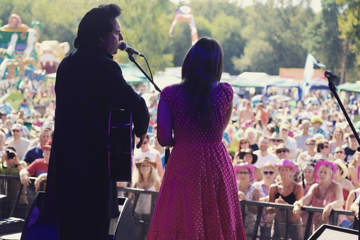 Johnny & June at Marvellous 2014!
