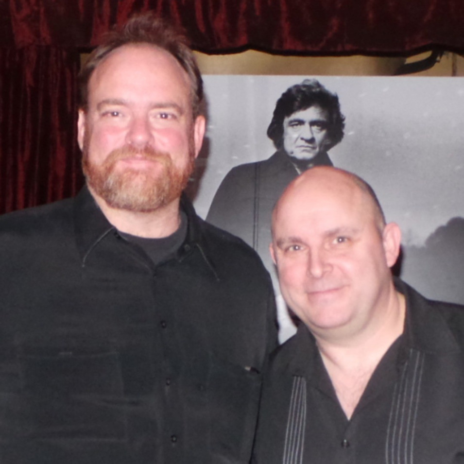 Rick with John Carter Cash