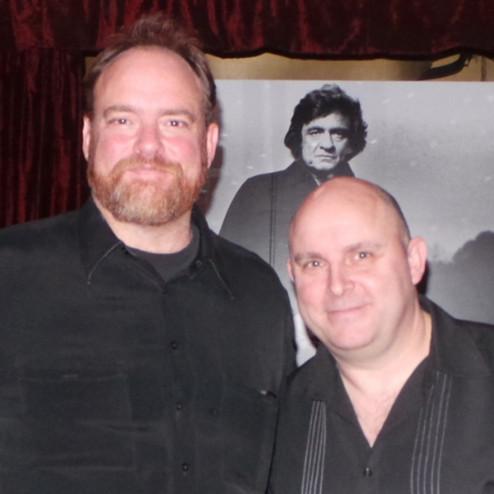 Rick with John Carter Cash