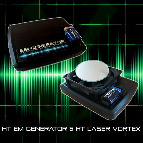 HT Laser Vortex & EM Generator Bundle