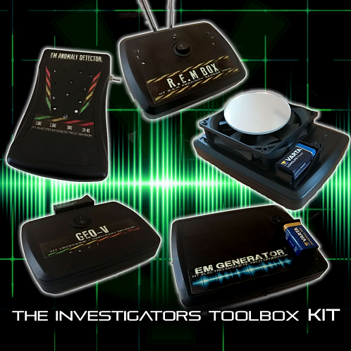 The Haunted Toolbox Kit