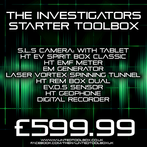 The Investigators Toolbox Kit