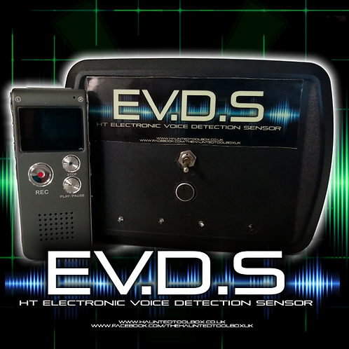 Electronic Voice Detection Sensor + Digital Recorder
