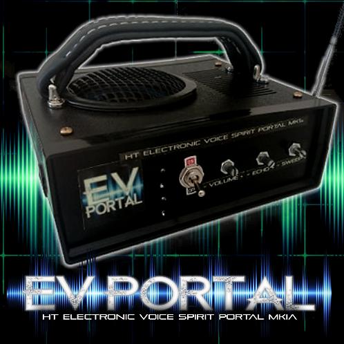 Electronic Voice Portal MK1 Radio Look. With Adjustable Sweep Rate & Echo.