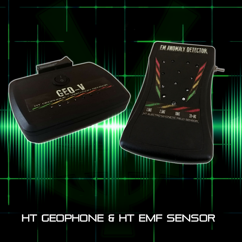 HT EMF Detector & Geophone Bundle
