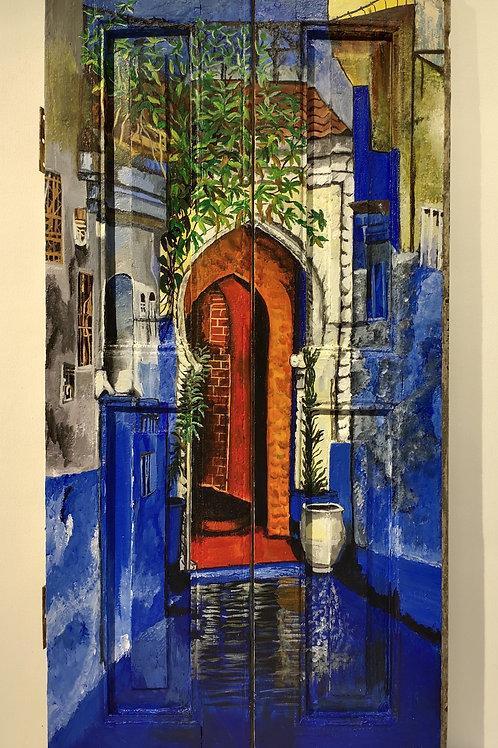 Bylanes Of Morocco : Orange Door