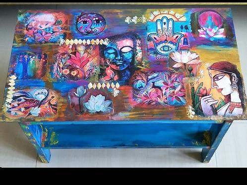 Buddha Concept Table