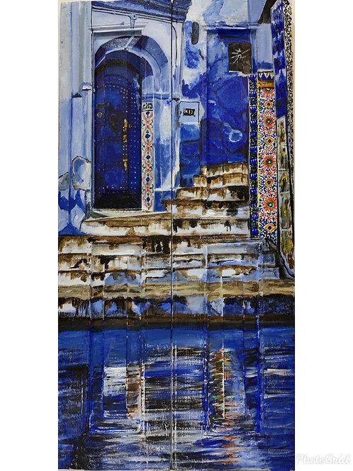 Bylanes Of Morocco : Blue Door