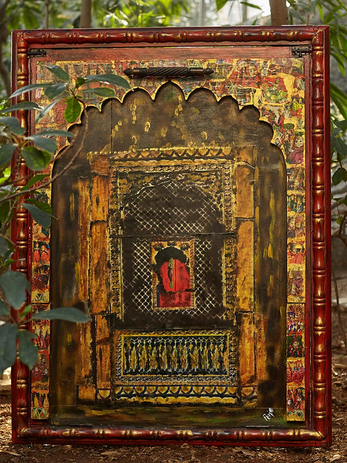Rajasthani Puppet Window