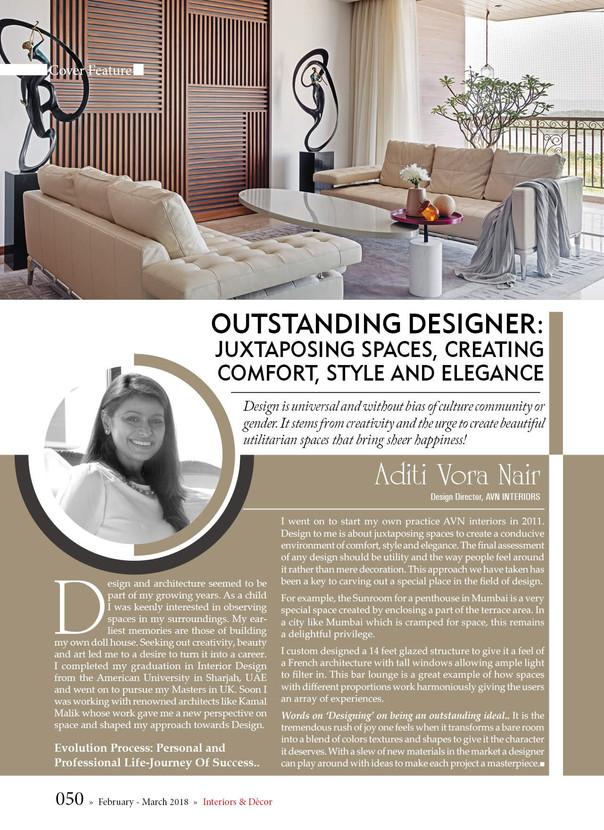 Outstanding Designer!