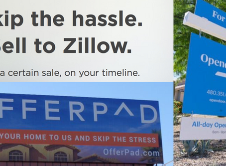 Are you willing to give away $20,000 of your home's equity to OpenDoor, OfferPad and Zillow?