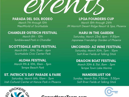 March Events: There is soooo much to do