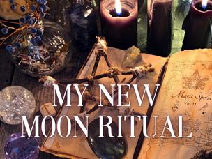My New Moon Ritual.