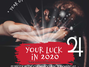 YOUR LUCK IN 2020