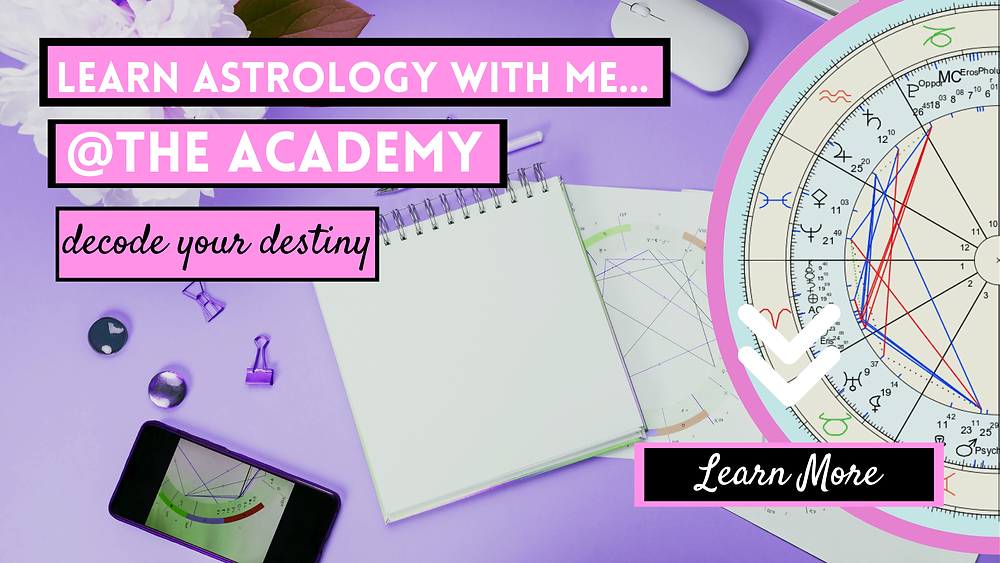 The witches academy, learn astrology with Ask a Little Witch