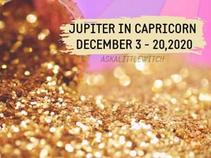 JUPITER IN CAPRICORN | December 3, 2019 - December 20, 2020
