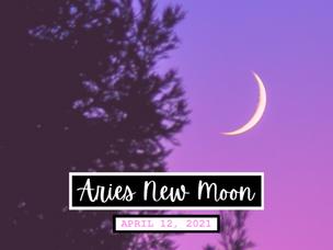 Aries New Moon 🌙  Make it happen!