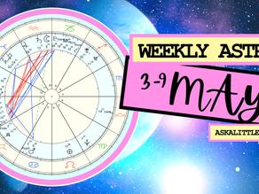 Progress & Listening... Weekly Horoscope, May 3, 2021