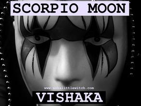 Scorpio Moon & Vishaka Nakshatra | Black, White & Shades of Grey