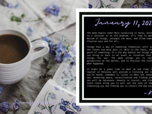 Weekly Horoscopes (12 signs) January 11, 2021