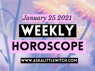(Subscribers Only) Weekly Horoscopes | Jan 25, 2021.