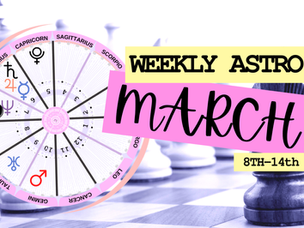 Overcoming the odds! Weekly Horoscope, March 8, 2021