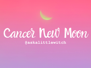 The Cancer New Moon | The Stories we tell ourselves