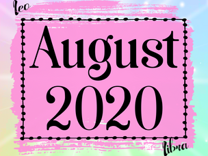 The Build up | August 2020 Horoscopes