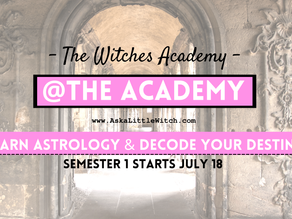 Learn Astrology with Me... The Witches Academy