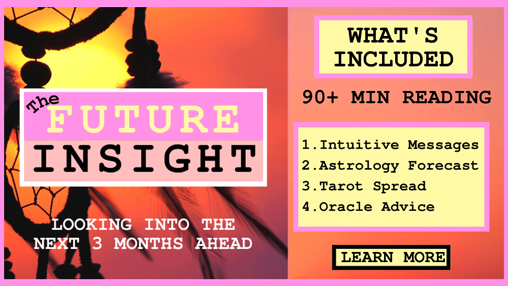 The future insight reading by ask a little witch