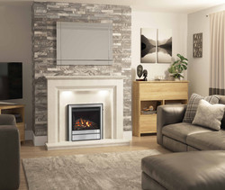 Chollerton Widescreen Gas Fire in Vamell